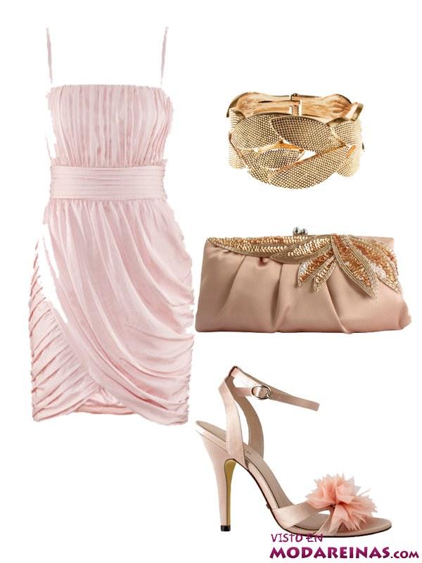 looks de fiesta en rosa