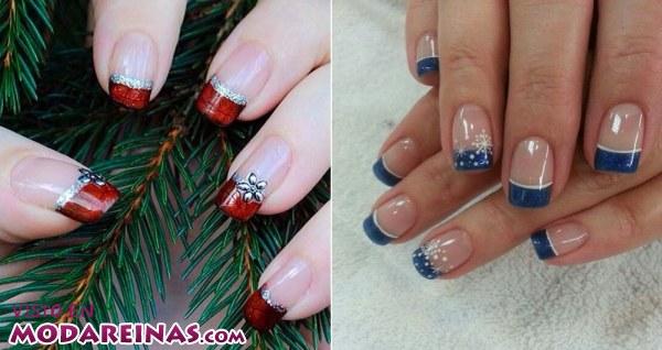 Ideas de manicura para Navidad