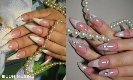 Diseños elegantes de manicure