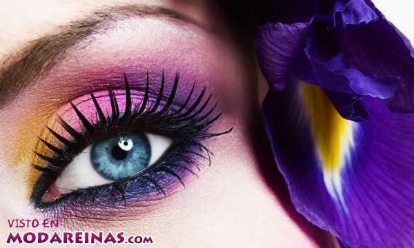 Consigue un maquillaje muy primaveral