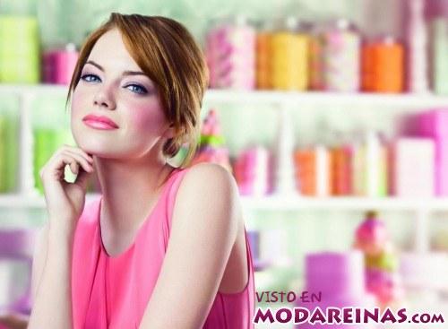 maquillaje en color rosa