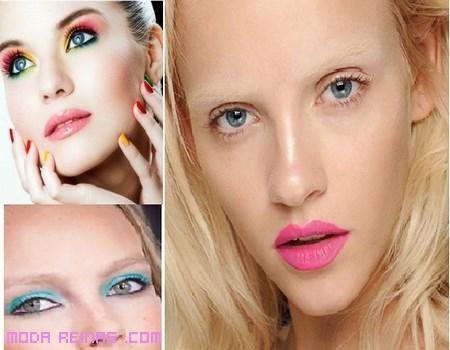 Maquillaje de moda para la primavera 2013
