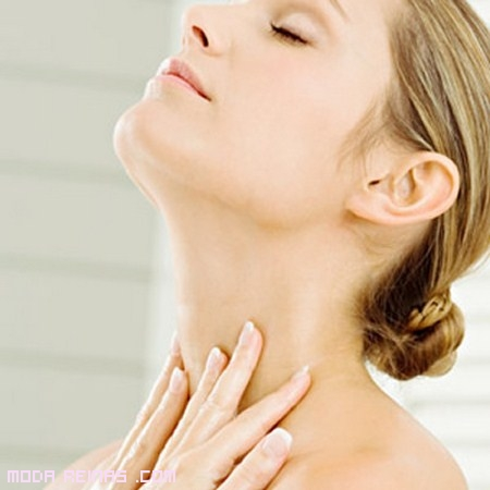 Mascarilla casera contra las arrugas del cuello