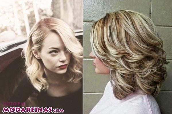 Peinados de media melena para estar a la moda