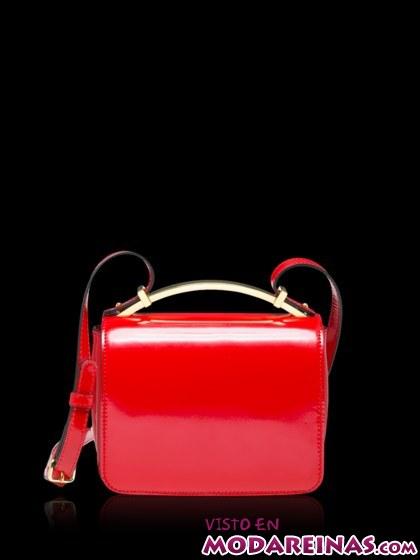 mini-bolso en rojo