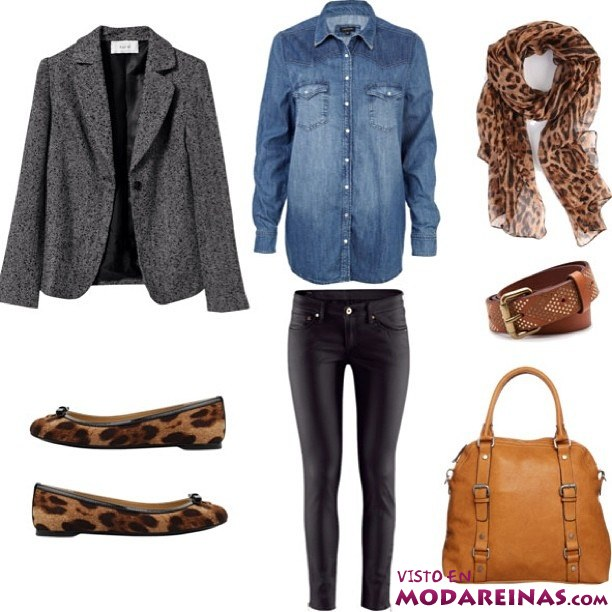 Looks de moda como camisa vaquera for Combinar camisa vaquera negra hombre