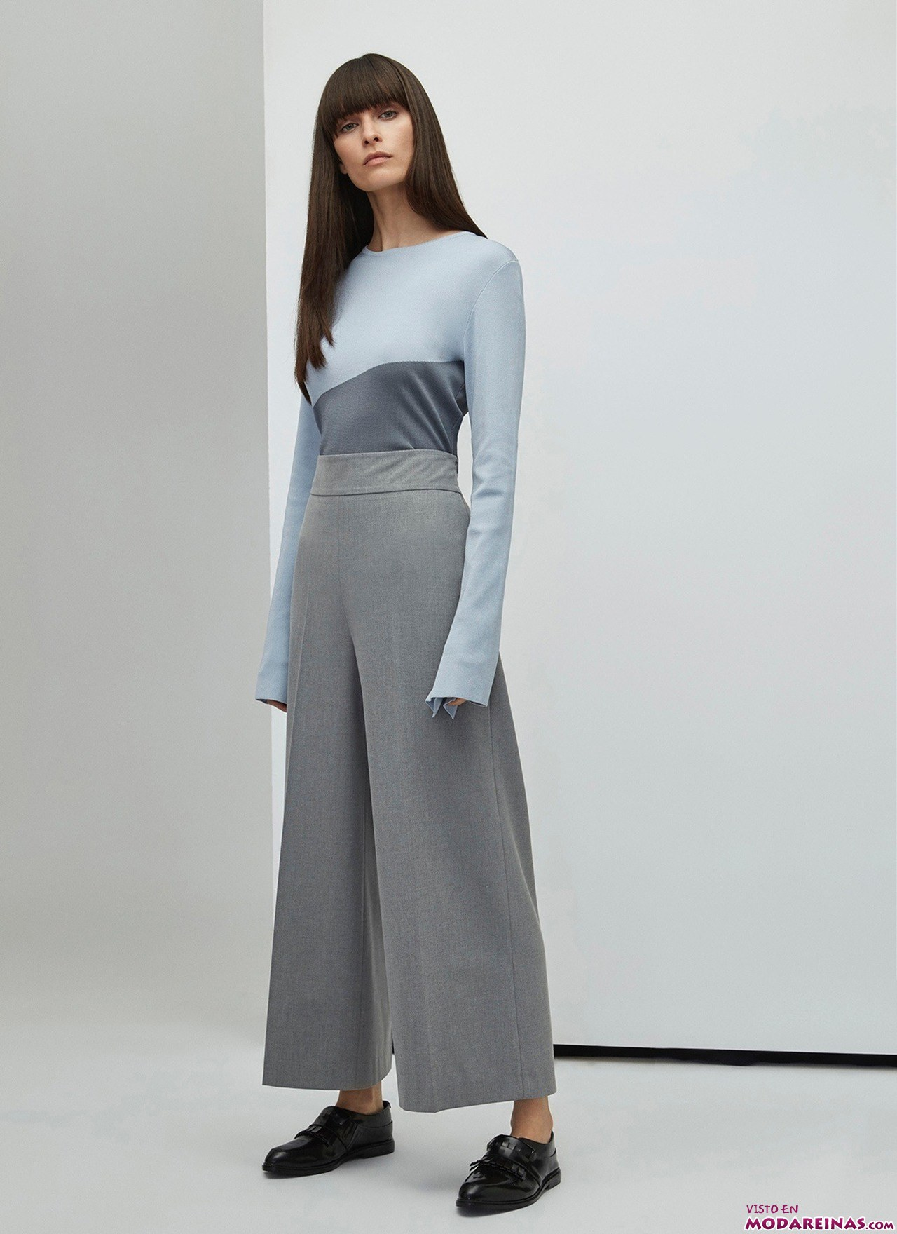pantalón culotte adolfo domínguez
