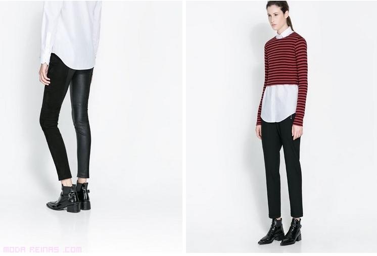 pantalones de tendencia en Zara