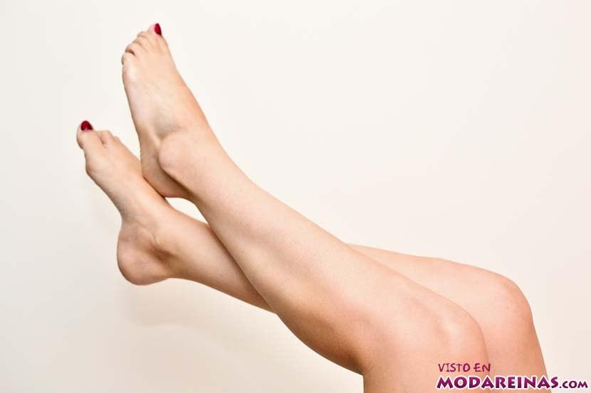 piernas sin pelos encarnados