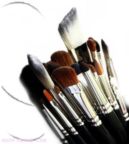 Tipos de pinceles y brochas para maquillaje