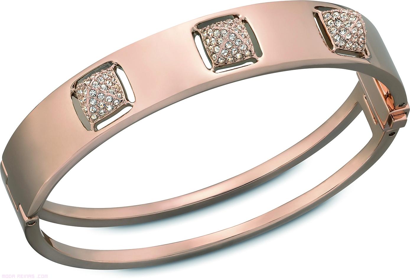 pulseras oro rosado