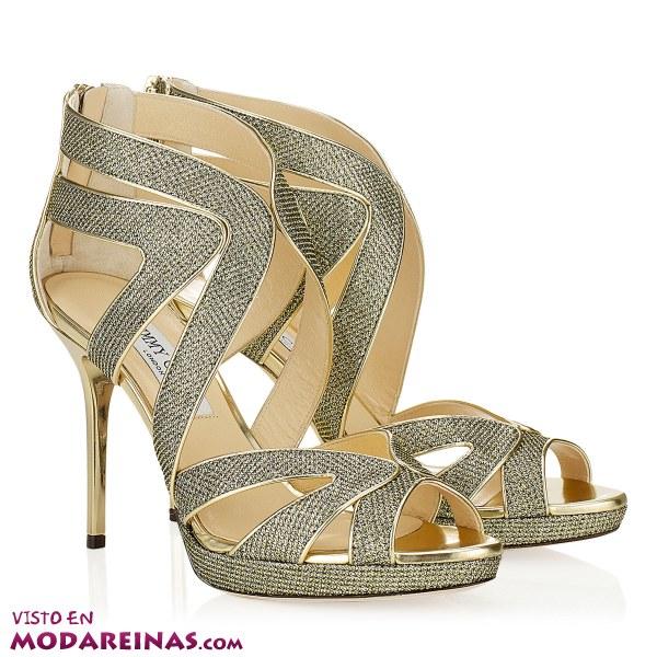 Zapatos para fiesta con mucho brillo