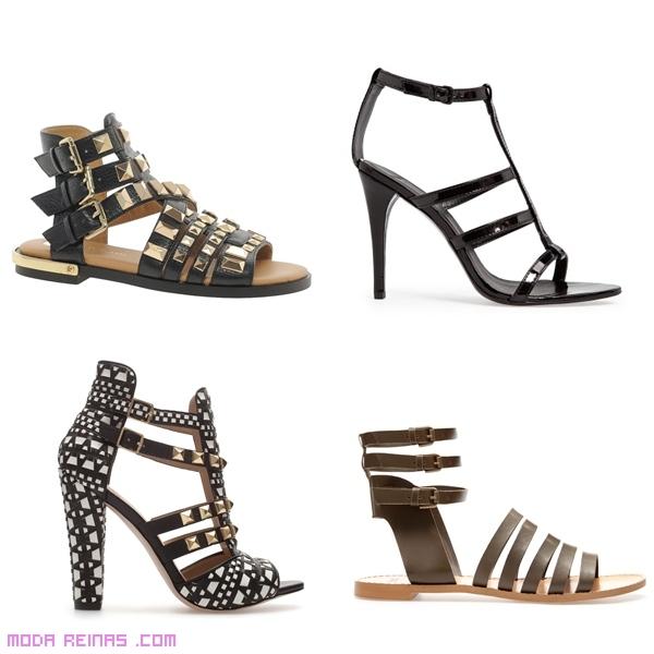 sandalias sin tacón