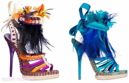 Colección zapatos Dior 2011