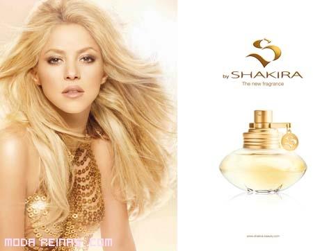 Shakira y su fragancia