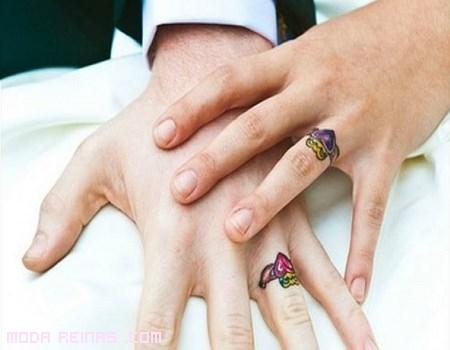 tatuajes en forma de anillos