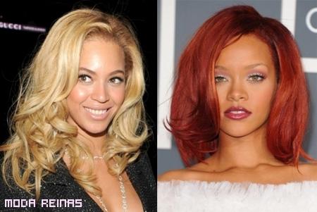 Peinados de las famosas 2011