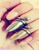 Anillos para uñas, la última tendencia