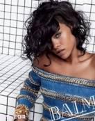 Rihanna para Balmain 2014