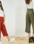 Los culottes marcan la moda de esta temporada