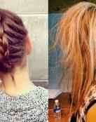 Ideas de peinados con coletas