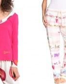 Pijamas Desigual, ¡ponle color a tus noches!
