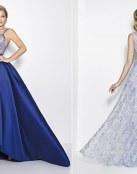 Vestidos largos de fiesta en color azul