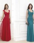 Vestidos largos, elegantes y a todo color
