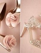 Zapatos de ceremonia muy románticos