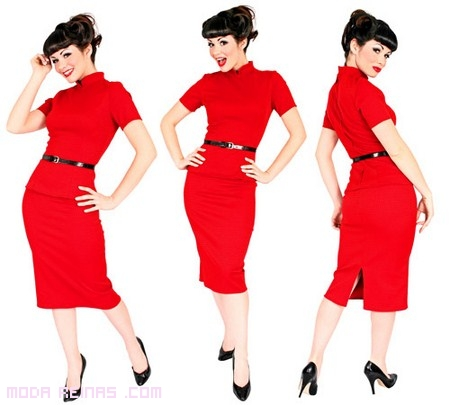 Los años 50 y 60: vestidos retro