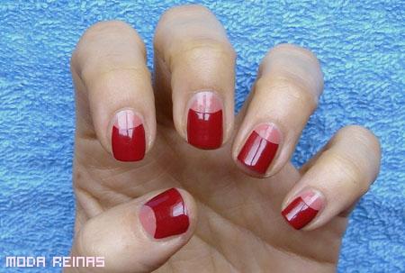 Cómo hacer manicure uñas medialuna