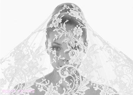 Velos para novia por Rosa Clará