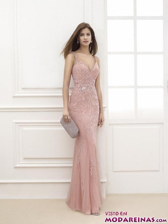 vestido color pastel bodas
