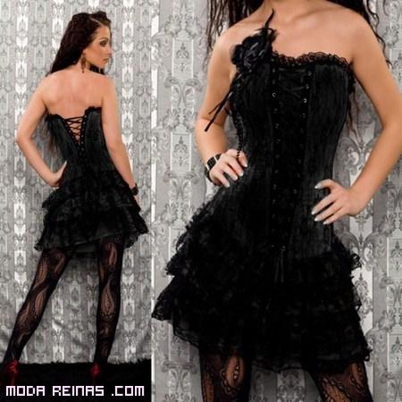 Vestido Corset negro a la moda
