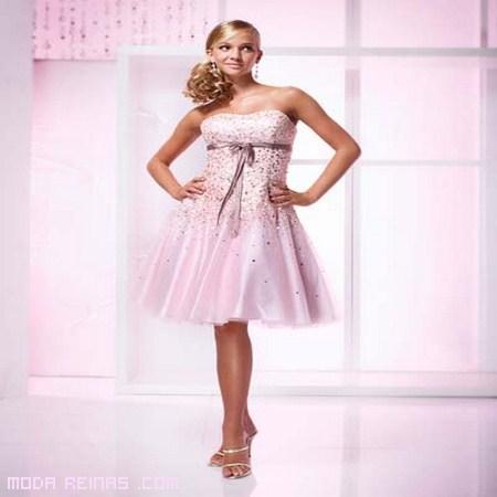 Vestidos cortos para quinceañeras 2012