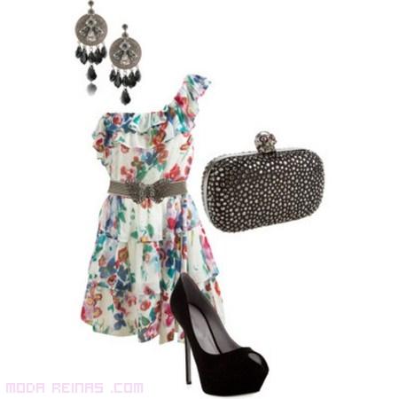 vestidos asimétricos para fiesta