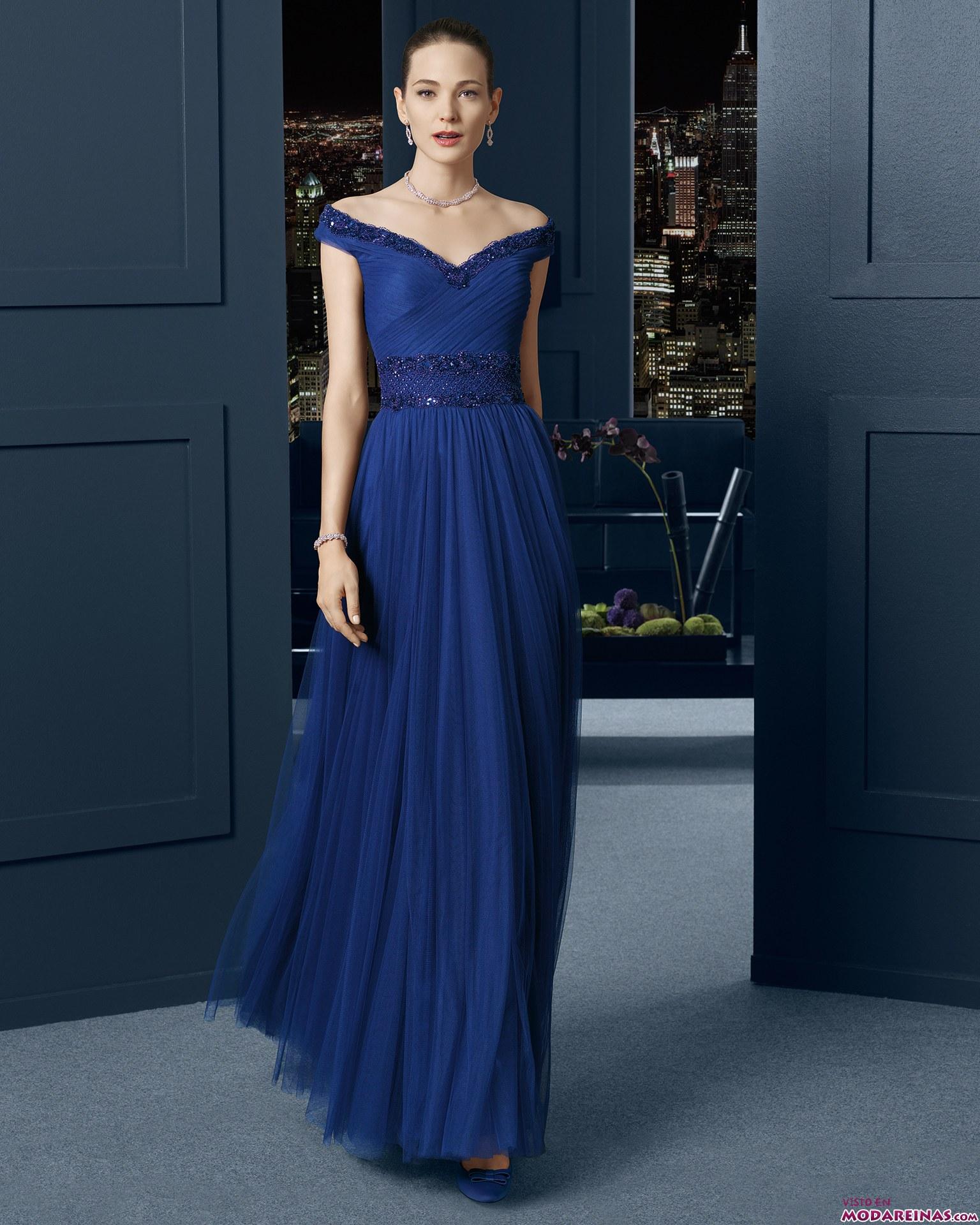 Vestidos fiesta la rosa azul