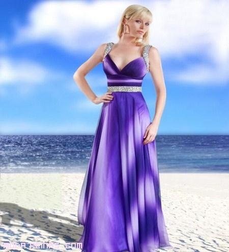 vestidos de colores degradado