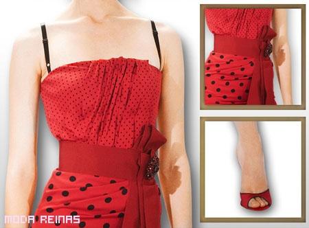 Vestido rojo sexy de Dolce&Gabbana