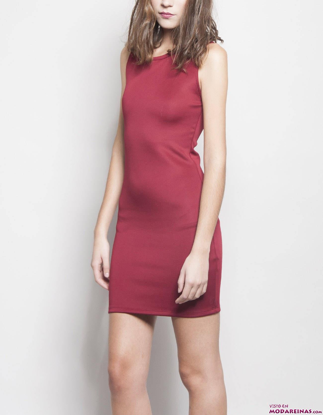 vestido rojo shana