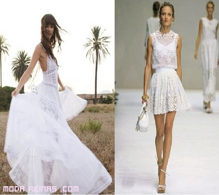 vestidos blancos de moda