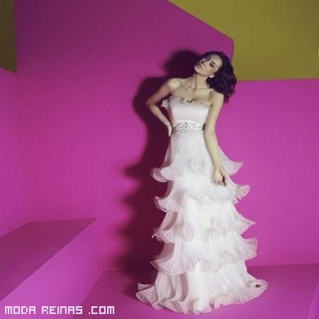 Vestidos de novia con glamou
