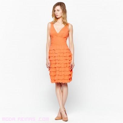 vestidos cortos con tirantes