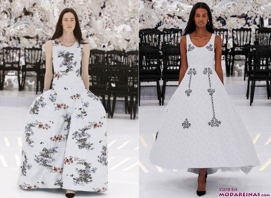 vestidos con volumen Dior