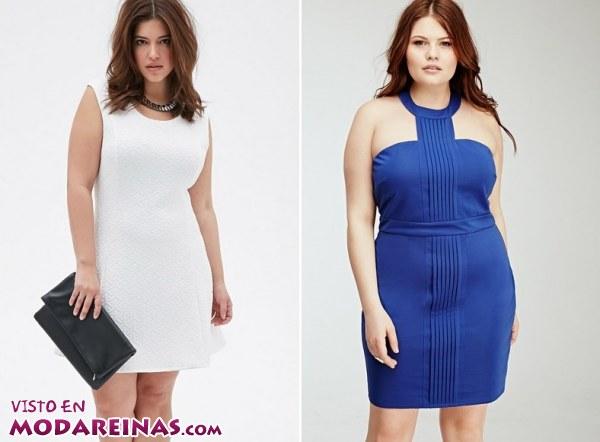 Forever 21 y sus vestidos plus size