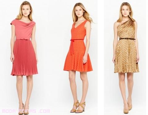 vestidos de fiesta naranja