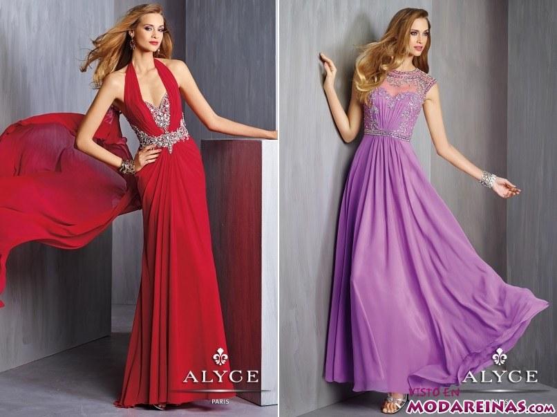 vestidos de colores Alyce Paris