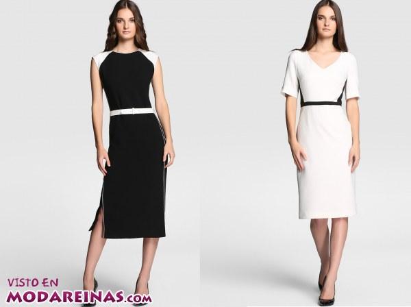 Vestidos blancos del corte ingles