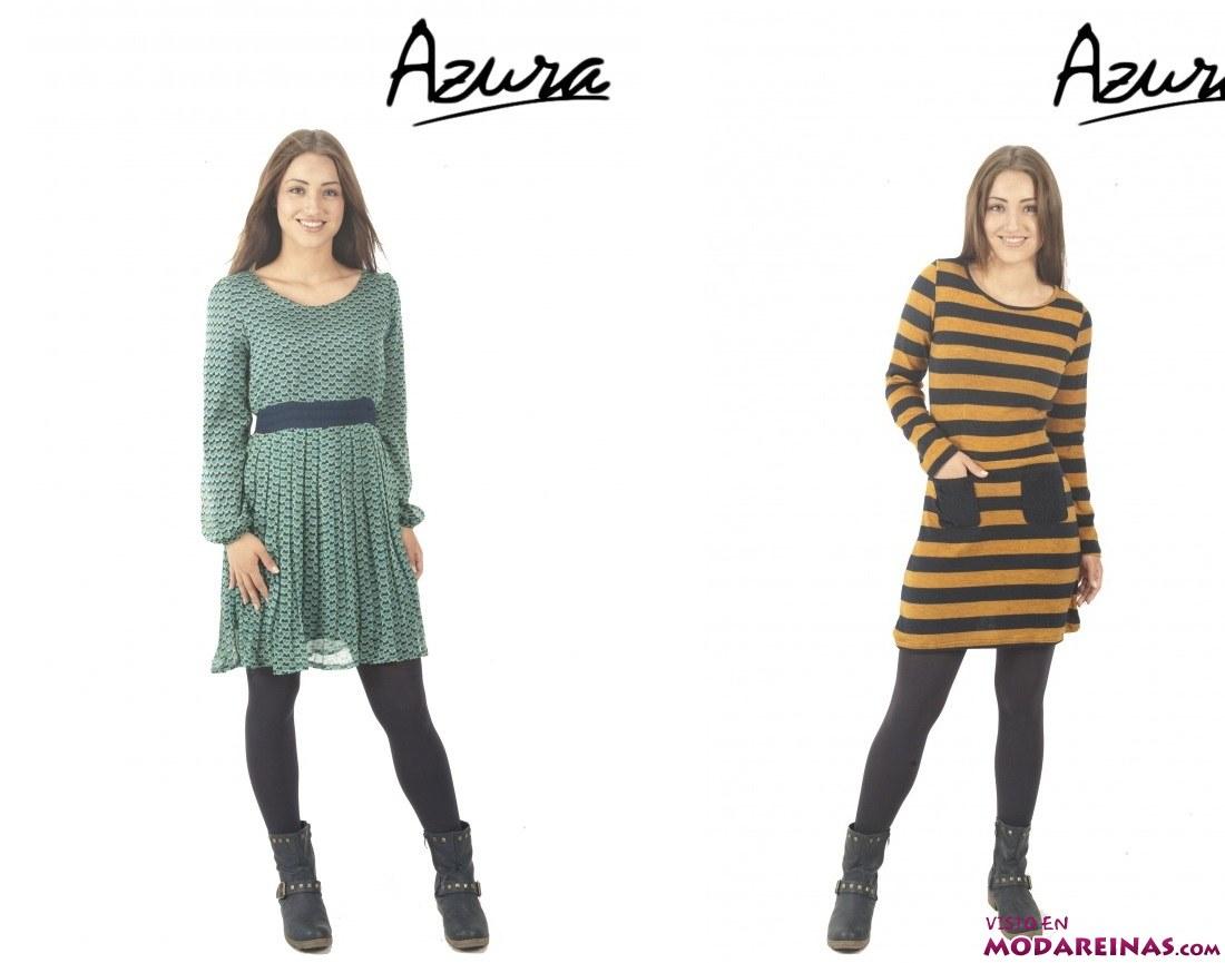 vestidos estampados Azura