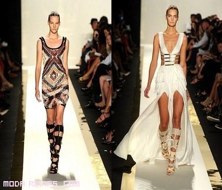 vestidos de Diosas griegas a la moda